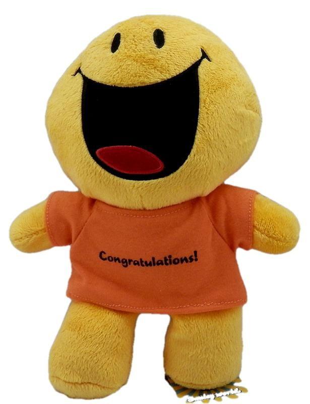 Λούτρινο Smiley congratulation - 1