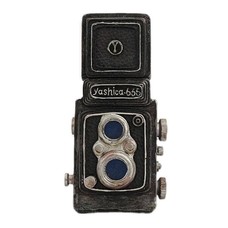 Μαύρος κουμπαρας vintage φωτογραφική μηχανή
