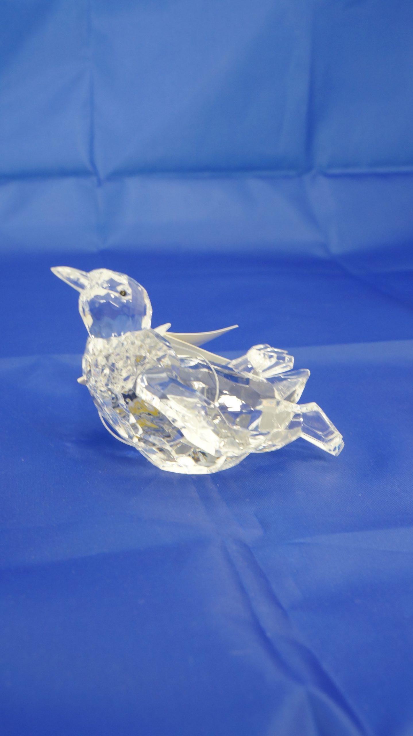 Μινιατούρα πιγκουίνος από διάφανο plexiglass INART - 1