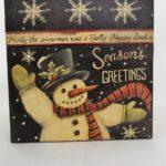 Χριστουγεννιάτικο κουτί Bob's Boxes, χιονάνθρωπος - 1