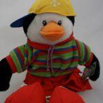 Λούτρινος πιγκουϊνος χιπ χοπ, 40εκ - 1