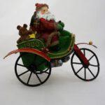 Χριστουγεννιάτικο διακοσμητικό, Άγιος Βασίλης σε αυτοκίνητο του 1900 - 1