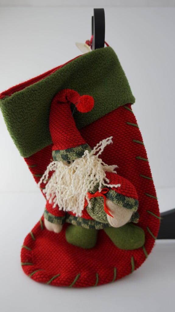 Χριστουγεννιάτικη διακοσμητική μπότα, Άγιος Βασίλης - 1