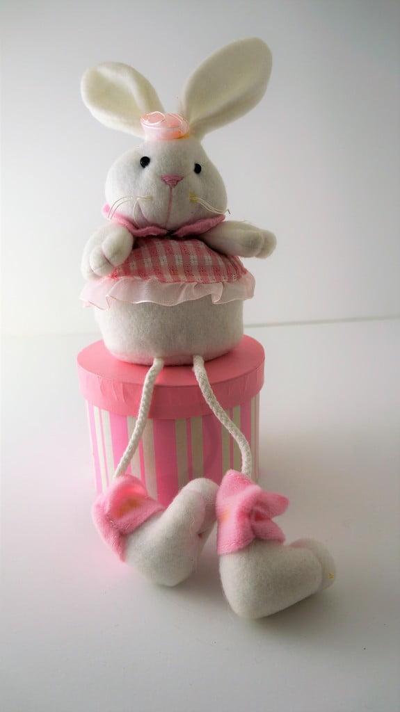 Κουτάκι κουνελάκι ροζ - 1
