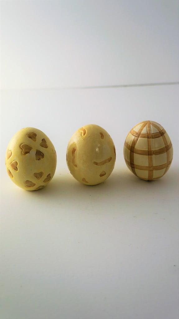 Κεραμικά αυγά σετ των 3 - 1