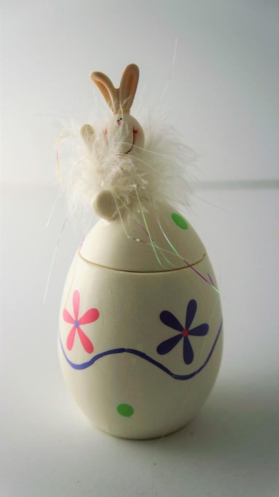 Κεραμικό αυγό κουτάκι, 14εκ - 1